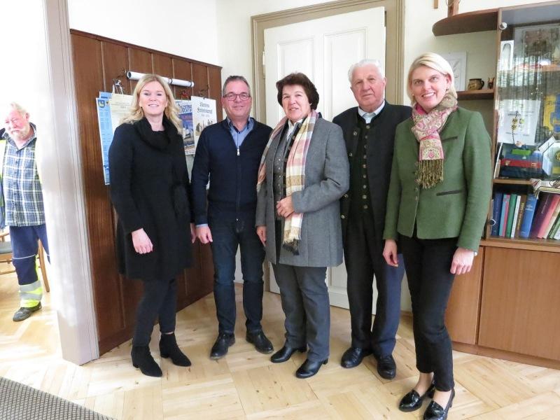 v.l.n.r. Sonja Matschnigg, Johann Schöffmann, Katharina Fritz, Siegfried Kampl, Elisabeth Eschenauer