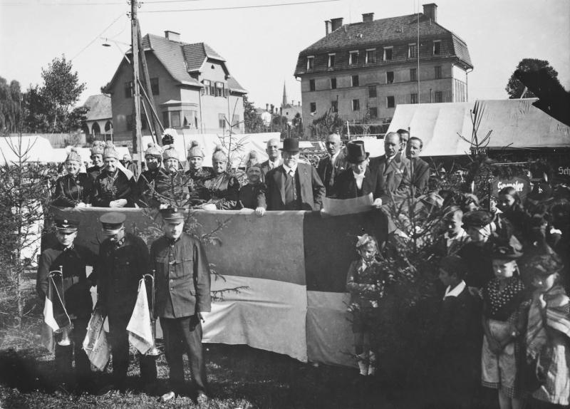 1935 Wiesenmarkteröffnung