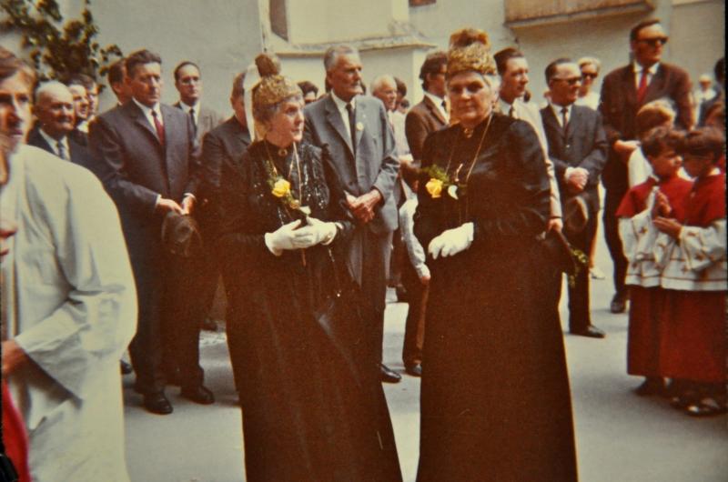 1968 Obfrau Lienhard & Elisabeth Zechner Fronleichnam