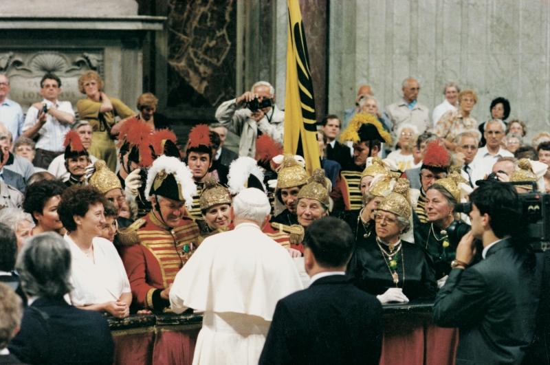 1990 Goldhauben in Rom
