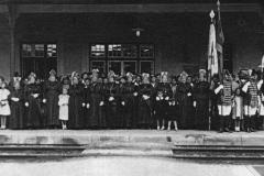 1916 Erzherzog Franz Ferdinand Ankunft am St. Veiter Westbahnhof
